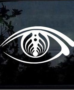 Bassnectar Open Your Eyes Car Window Decal Sticker