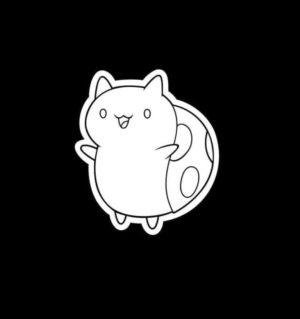 Catbug Bravest Warriors Vinyl Decal Sticker