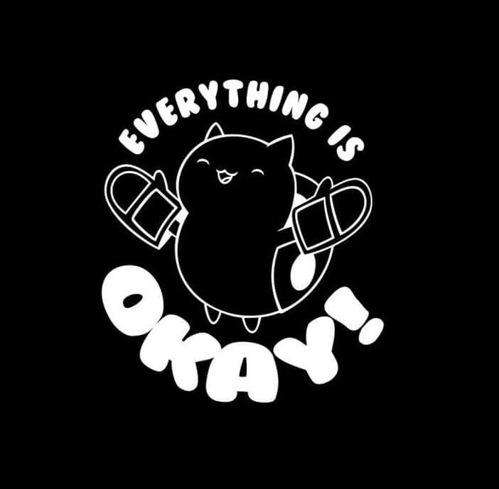 Catbug Everything is Okay Bravest Warriors Vinyl Decal Sticker