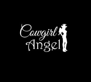 Cowgirl Angel Vinyl Decal Sticker