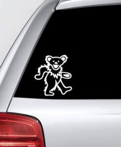 Grateful Dead Dancing Bear Vinyl Decal Sticker