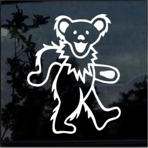 Grateful Dead Dancing Bear Decal Sticker
