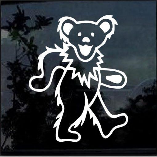 Grateful Dead Dancing Bear Decal Sticker