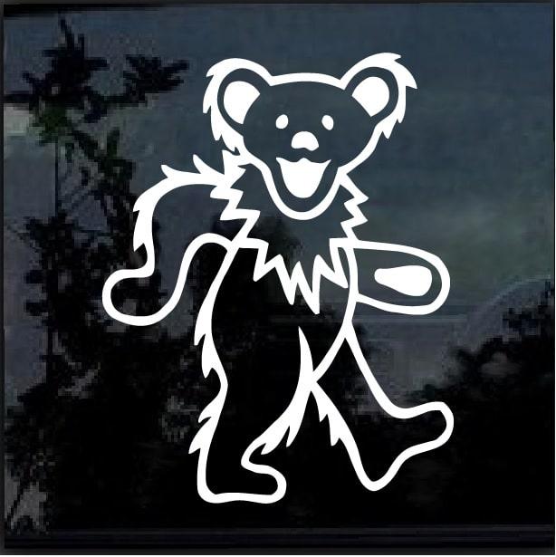 c2b1c4a29da9f Grateful Dead Dancing Bear - Band Stickers – Custom Sticker Shop