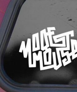 Modest Mouse Band Logo Vinyl Decal Sticker