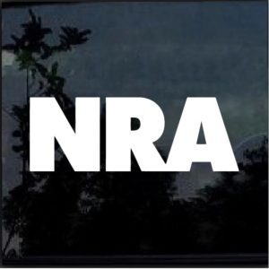 NRA decal sticker