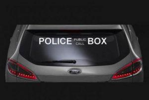 Police Public Call Box Vinyl Decal Sticker