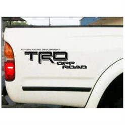 Toyota TRD Off Road Bedside Vinyl Decal Stickers set