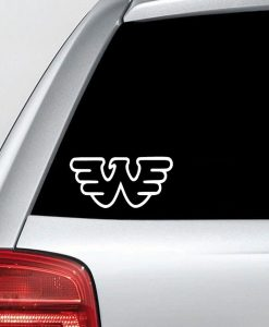 Waylon Jennings Logo Vinyl Decal Sticker