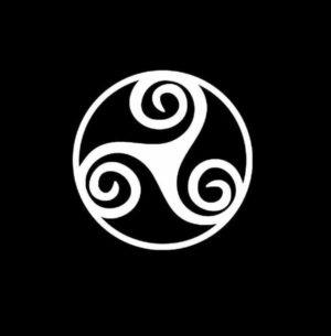 Celtic triskel Vinyl Decal Sticker
