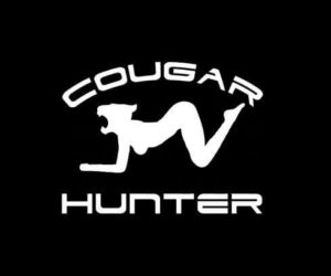 Cougar hunter Vinyl Decal Sticker