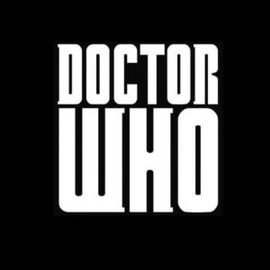 Doctor who lettering Vinyl Decal Sticker