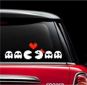 Pac Man Family Decal Stickers