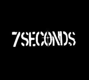 7 Seconds band Vinyl Decal Sticker
