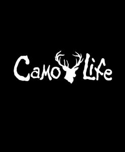 Camo Life Deer Vinyl Decal Sticker
