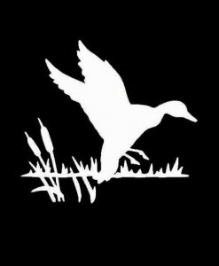 Duck Hunting Swamp Vinyl Decal Stickers