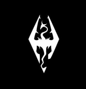 Skyrim Elder Scrolls Vinyl Decal Stickers
