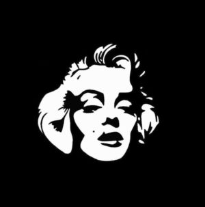 Marilyn Monroe Vinyl Decal Sticker