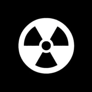 Nuclear Radiation Vinyl Decal Stickers