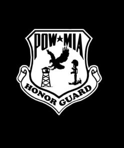 POW MIA Honor Guard Vinyl Decal Stickers