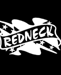 Redneck Flag Vinyl Decal Sticker