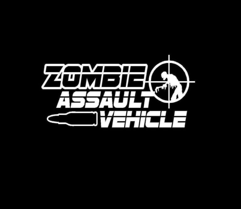 Zombie Assault Vehicle Decal Stickers – Custom Sticker Shop