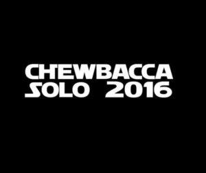 Chewbacca Solo 2016 Star Wars Vinyl Decal Sticker