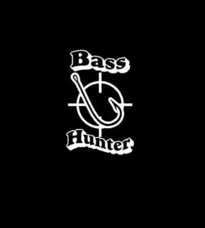 Bass Hunter decal sticker