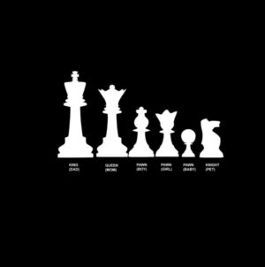 Chess Family Decal Stickers
