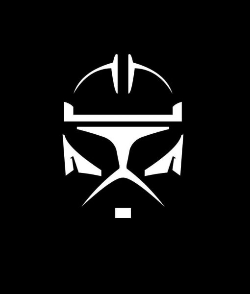 Yellow Black Trooper Sticker