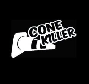 Cone Killer JDM Vinyl Decal Sticker