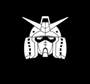 Gundam Anime Vinyl Decal Sticker