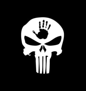 Jeep Wave Punisher Vinyl Decal Sticker