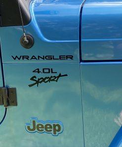 wrangler 4.0 sport fender set
