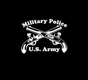 Military Police Vinyl Decal Sticker