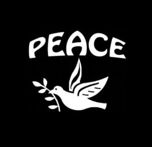 Peace Dove Vinyl Decal Sticker