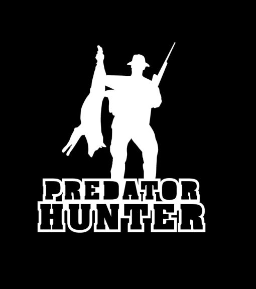 Predator Hunter Coyote Vinyl Decal Stickers