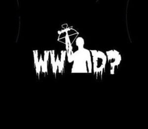 What Would Darrel Do Walking Dead Vinyl Decal Stickers