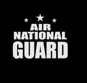 Air National Guard Vinyl Decal Stickers