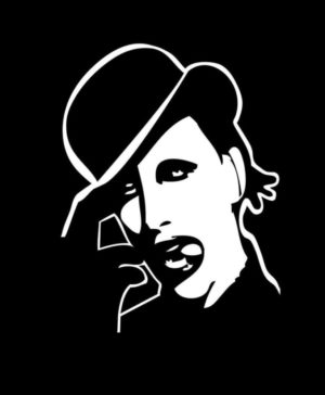 Marilyn Manson Vinyl Decal Sticker a1
