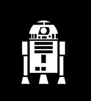 Star Wars R2D2 Vinyl Decal Stickers