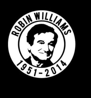 Robin Williams RIP Vinyl Decal Sticker
