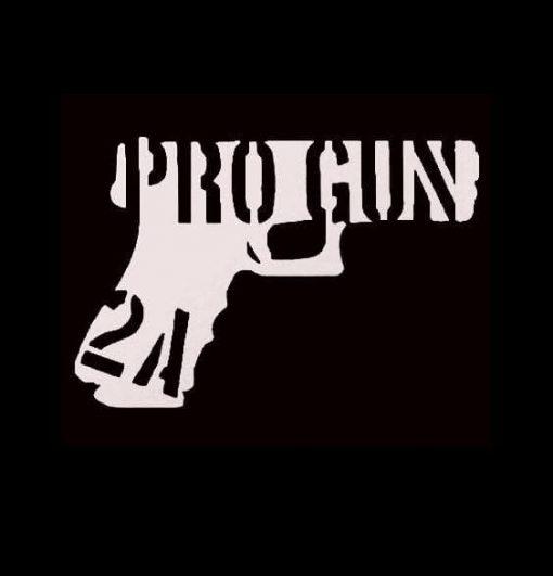 Pro Gun 2nd Amendment Vinyl Decal Sticker