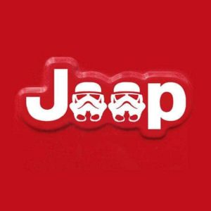 Jeep Storm Trooper Fender Decal set