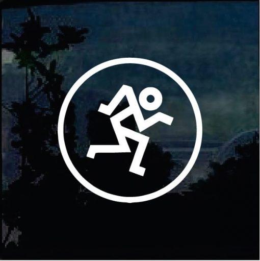 Mackie Running Man Vinyl Decal Sticker