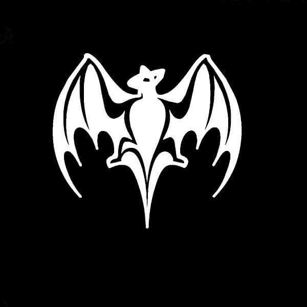Bacardi Bat Vinyl Decal Sticker