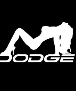 Dodge Mudflap Girl Vinyl Decal Stickers