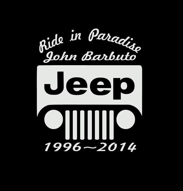 In Loving Memory Car Decals >> Jeep In Loving Memory Window Decal Sticker Custom Sticker Shop