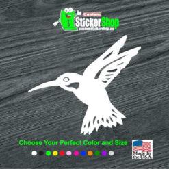 hummingbird humming bird decal sticker