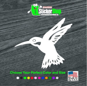 hummingbird humming bird decal sticker